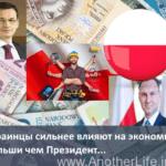 Украинцы сильнее влияют на экономику Польши чем Президент