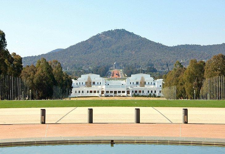 Muzej avstralijskoj demokratii v starom zdanii parlamenta