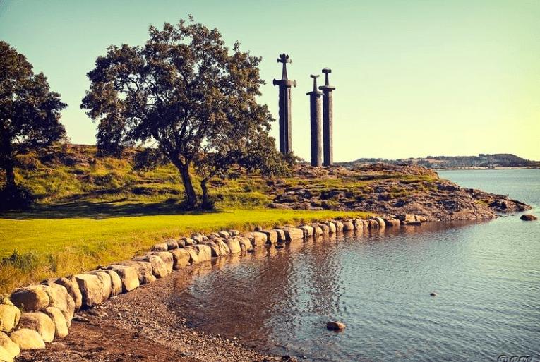 Mechi v Skale, Norvegiya