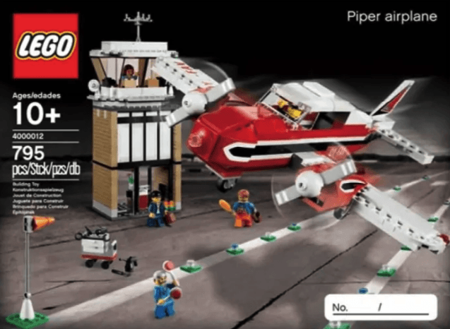 Lego Piper Airplane (LEGO Inside Tour Exclusive 2012 Edition)
